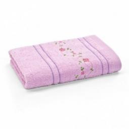 фото Полотенце махровое Любимый дом «Маргаритки». Размер полотенца: 70х35 см. Цвет: лавандовый