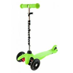 фото Самокат трехколесный Hubster Kick Mini. Цвет: салатовый