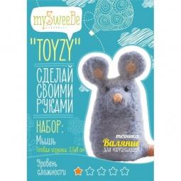 фото Набор для изготовления мягкой игрушки mySweeBe «Мышь»