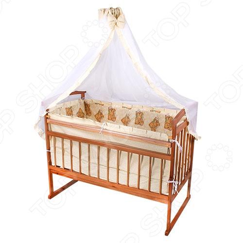 фото Балдахин на кроватку Карапуз ЯВ114681, Постельные принадлежности для новорожденных