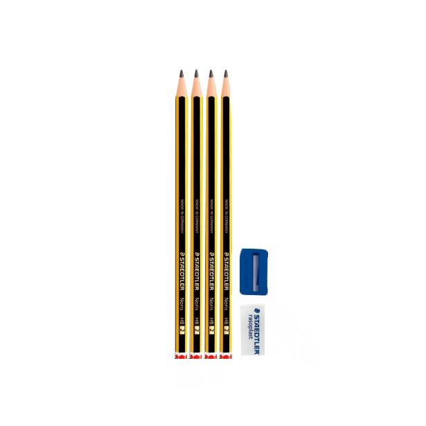 фото Набор карандашей с ластиком и точилкой Staedtler 120S1BK4D