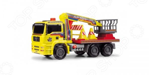 Машинка игрушечная Dickie «Грузовик с подъемным механизмом» AirPump dickie машинка с подъемным краном на д у 3729003