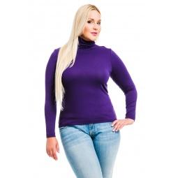 фото Водолазка Mondigo XL 046. Цвет: темно-фиолетовый. Размер одежды: 48