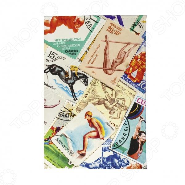 Обложка для паспорта Mitya Veselkov «Спорт. Марки 2»