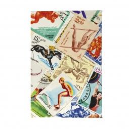 фото Обложка для паспорта Mitya Veselkov «Спорт. Марки 2»