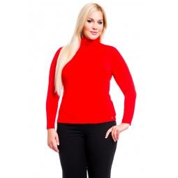 фото Водолазка Mondigo XL 204. Цвет: красный. Размер одежды: 48
