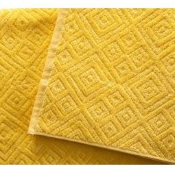 фото Полотенце махровое Asgabat Dokma Toplumy «Жаккард». Размер: 50х100 см. Цвет: желтый