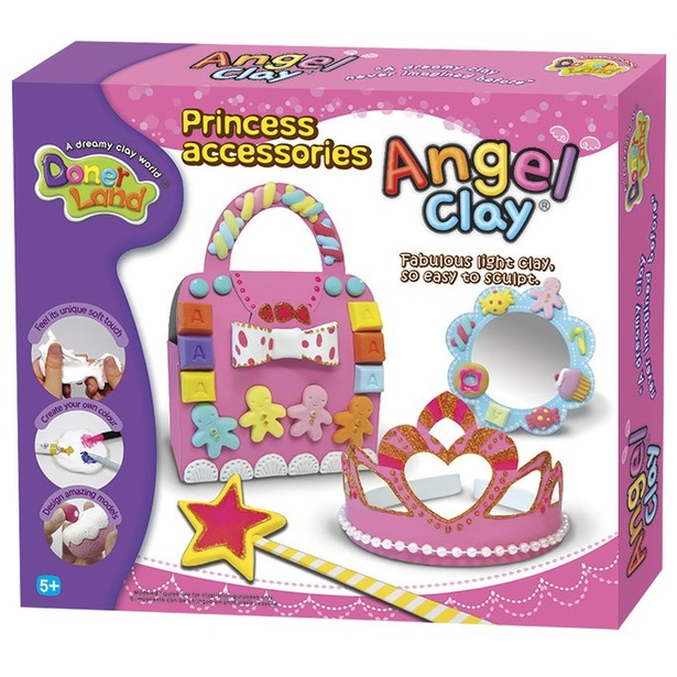 фото Набор для лепки из массы Kinder Club Princess Accessories