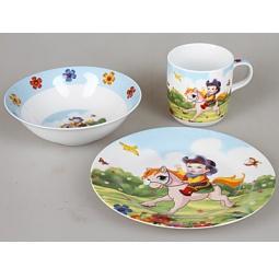 фото Набор посуды для детей Rosenberg 8756