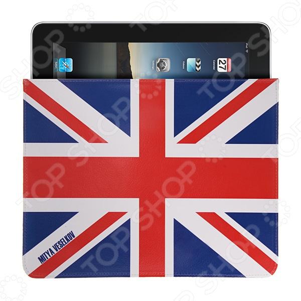 Чехол для iPad Mitya Veselkov «Британский флаг» чехлол для ipad iphone mitya veselkov чехол для ipad райский сад ip 08