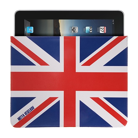 Купить Чехол для iPad Mitya Veselkov «Британский флаг»