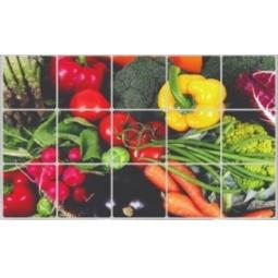 Купить Экран защитный кухонный Bradex «Овощи»