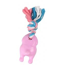 Купить Игрушка для собак DEZZIE «Бройлер с веревкой»