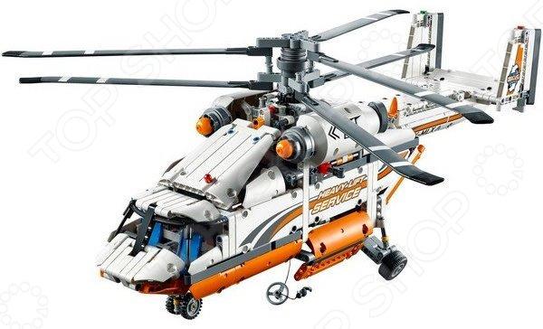 Конструктор LEGO «Грузовой вертолет»Конструкторы LEGO<br>Конструктор LEGO Грузовой вертолет отличный подарок как для детей, так и взрослых. За десятки лет существования бренд успел завоевать любовь миллионов людей по всему миру, ведь компания с большим вниманием относится к созданию своей продукции. Они постоянно воплощают новые идеи, при этом концепция деталей остается практически неизменной. Конструкторы такого типа развивают пространственное и логическое мышление, фантазию, творческие способности и мелкую моторику рук. А с каждым новым набором в коллекции будут расширяться варианты игровых сценариев. Особенность конструктора данной серии заключается в наличии мотора и батареи, позволяющих пропеллеру вращаться.<br>