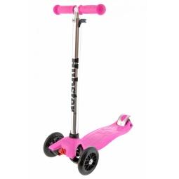 фото Самокат трехколесный Hubster для ребенка. Цвет: розовый