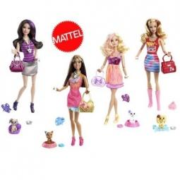 фото Набор игровой для девочек Mattel Модная штучка. Аксессуары для домашних животных. В ассортименте