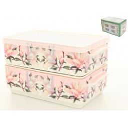 Купить Набор блюд для холодца Elan Gallery «Орхидея на розовом»