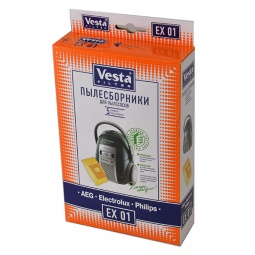 Купить Мешки для пыли Vesta EX 01