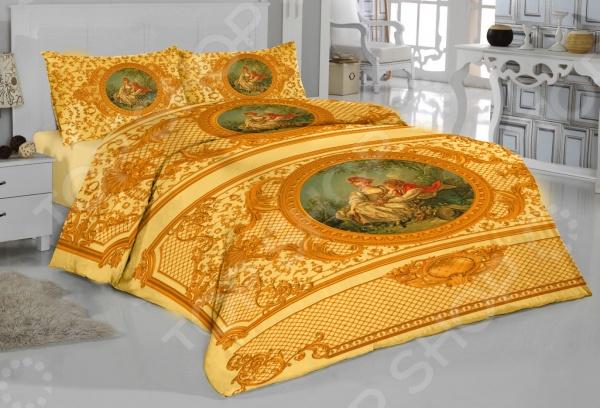 Комплект постельного белья «Великолепный век». ЕвроЕвро<br>Комплект постельного белья Великолепный век это удобное постельное белье, которое подойдет для ежедневного использования. Чтобы ваш сон всегда был приятным, а пробуждение легким, необходимо подобрать то постельное белье, которое будет соответствовать всем вашим пожеланиям. Приятный цвет, нежный принт и высокое качество ткани обеспечат вам крепкий и спокойный сон. Верх пододеяльника и наволочек выполнен из атласа, ткань микрофибра же отличается следующими качествами:  такие изображения кажутся объемными и реалистичными, а яркость и красота удивительных рисунков не оставят никого равнодушными.  они очень долгое время будут радовать всю вашу семью своей уникальной красотой.  обладает превосходными качествами по созданию микроклимата: позволяют коже дышать, впитывают влагу, создают комфорт и уют, позволяют высыпаться в гармонии и полностью отдохнувшими. Постельное белье отличается экологически чистыми материалами и устойчивыми красителями. Ткань устойчива к механическим воздействиям. Перед стиркой выверните наизнанку наволочки и пододеяльник. Для сохранения цвета не используйте порошки, которые содержат отбеливатель.<br>