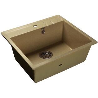 Купить Мойка кухонная GranFest Quadro GF-Q560. Цвет: песочный
