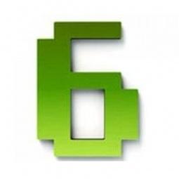 фото Дверной номерок Студия Артемия Лебедева «Дигитус» 6. Цвет: зеленый