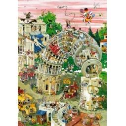 Купить Пазл 1000 элементов Heye «Пизанская башня» Robert Crisp