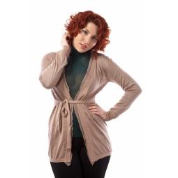 фото Кардиган Mondigo XL 9825. Цвет: карамельный. Размер одежды: 50