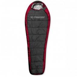 фото Спальный мешок Trimm Highlander. Цвет: красный. Расположение молнии: левостороннее