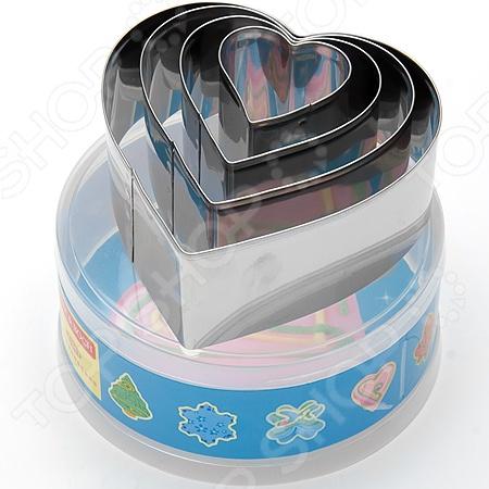 Формы для выпечки Mayer&amp;amp;Boch MB-23997 «Сердце»Металлические формы для выпечки и запекания<br>Формы для выпечки Mayer Boch MB-23997 Сердце это отличная форма для выпекания коржей и печенья, которая сделана из стали. Посуда идеально подходит для выпекания различной выпечки, ведь форма предотвращает тесто от вытекания , при этом, предоставляя возможность с легкостью извлечь готовую выпечку в предполагаемую тару для подачи на стол. В такой форме процесс приготовления будет происходить быстрее. Можно мыть в посудомоечной машинке, форма не впитывает запах и легко очищается.<br>