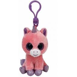 фото Мягкая игрушка с клипсой TY Единорог MAGIC. Высота: 12,5 см