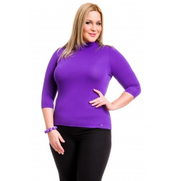 фото Водолазка Mondigo XL 7010. Цвет: фиолетовый. Размер одежды: 48