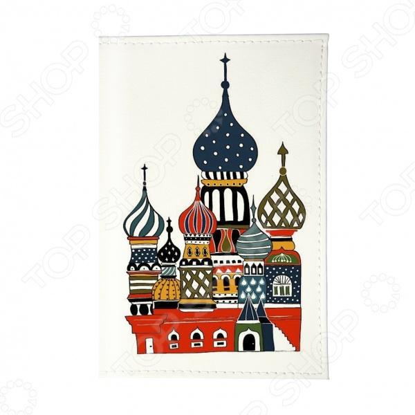 Обложка для паспорта Mitya Veselkov «Храм»Обложки для паспортов<br>Mitya Veselkov Храм это современная и ультрамодная обложка для вашего паспорта. Представленная модель предназначена для людей, которые хотят сделать жизнь ярче, красочней и к традиционным вещам подходят творчески. Изделие подходит как для внутреннего, так и заграничного удостоверения личности. Изготовленная из ПВХ обложка, надежно защитит важный документ от внешнего воздействия, поэтому он всегда будет как новый. Придайте паспорту оригинальности и подчеркните свою уникальность!<br>