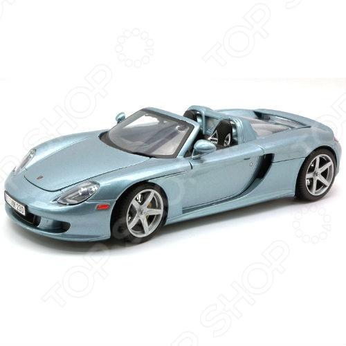 Модель автомобиля 1:18 Motormax Porsche Carrera GT 2004. В ассортименте