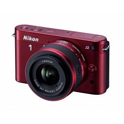 фото Фотокамера цифровая Nikon 1J2. Цвет: красный