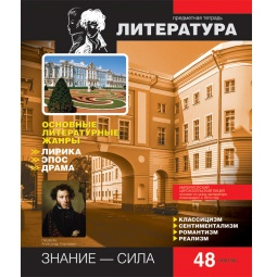 фото Тетрадь в линейку Erich Krause Online Journals «Литература»