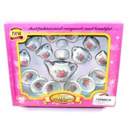 фото Набор посуды игрушечный Shantou Gepai «Цветы» 2074-C2