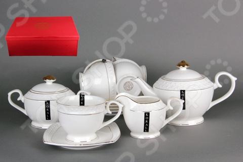 Чайный набор Коралл LQT0116-A «Снежная королева» стеллар детская посуда чайный набор