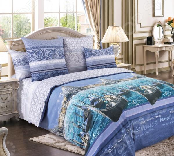 Комплект постельного белья Королевское Искушение «Венеция» 1713668 комплекты белья linse комплект белья