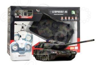 Танк на радиоуправлении VSP German Leopard2 A6 машинка vsp танк 628437