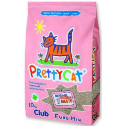 фото Наполнитель для кошачьего туалета PrettyCat Euro Mix Club
