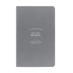 фото Записная книжка линованная Ogami Pro S. Цвет: серый