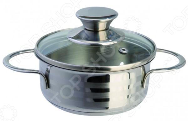 Кастрюля Regent Bimbo VitroКастрюли<br>Кастрюля Regent Bimbo Vitro большая посуда из высококачественной нержавеющей стали, в которой можно сварить первые блюда, а также потушить овощи, мясо и рыбу. Часто используется для заготовок на зиму: повидла, варенья и прочего. Крышка с пароотводом сделана из термостойкого стекла, снабжена металлическим ободком. Оптимальное соотношение толщины дна и стенок посуды обеспечивает равномерное распределение тепла, экономит энергию, делает посуду устойчивой к деформации. Многослойное капсулированное дно аккумулирует тепло, способствует быстрому закипанию и приготовлению пищи даже при небольшой мощности конфорок.<br>