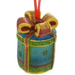 фото Игрушка ёлочная Феникс-Презент 34597 «Подарок»