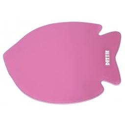 фото Коврик под миску для кошек DEZZIE «Рыба». Цвет: розовый