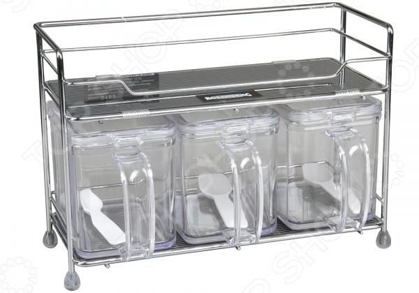 Набор для сыпучих продуктов Rosenberg 6189 набор для специй rosenberg rgs 075017