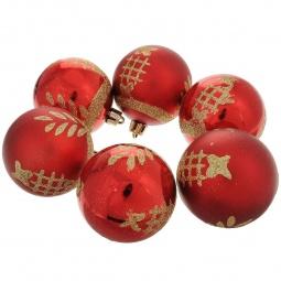 фото Набор новогодних шаров Феникс-Презент 35513