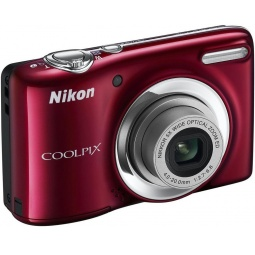 фото Фотокамера цифровая Nikon CoolPix L25. Цвет: красный