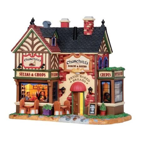 Купить Домик керамический Lemax «Пекарня и Бистро Черчилля»