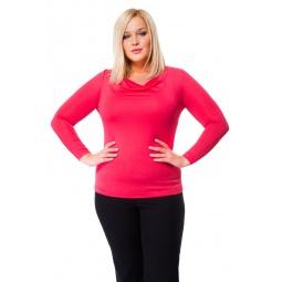 фото Кофта Mondigo XL 1464. Цвет: ярко-розовый. Размер одежды: 50