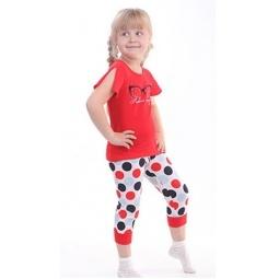 фото Комплект для девочки: джемпер и капри Свитанак 606490. Рост: 98 см. Размер: 28